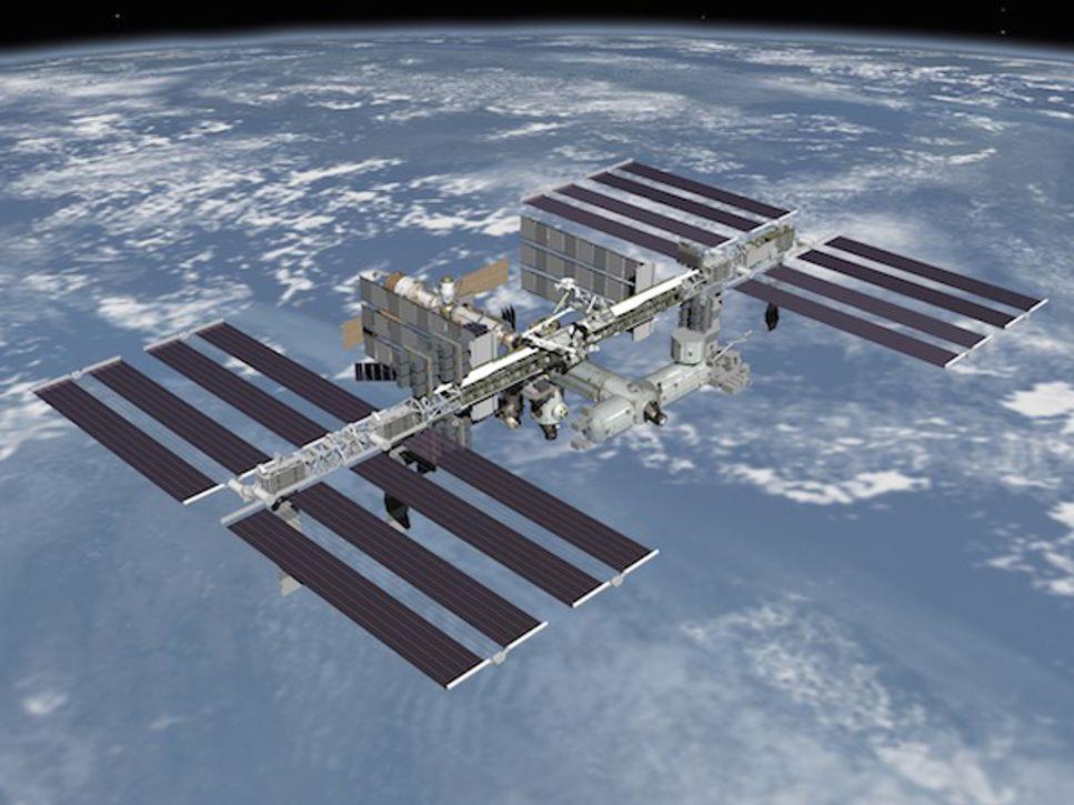 ISS – från första byggstenen till färdig rymdstation