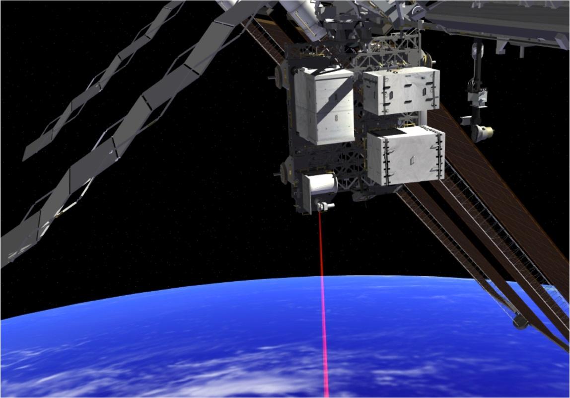 NASAs instrument OPALS, Optical Payload for Lasercomm Science har skickat video från ISS ner till jorden.