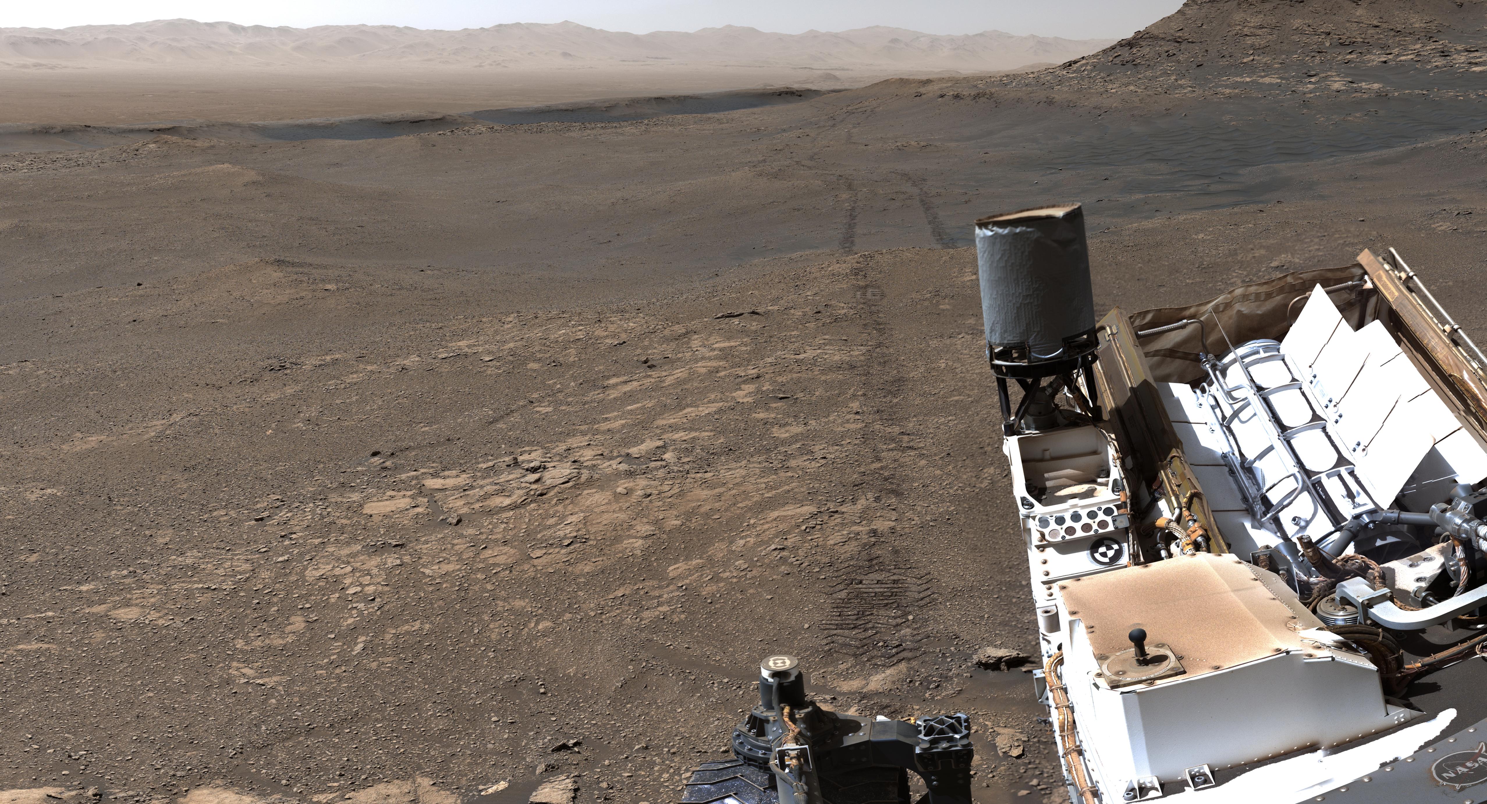 Nya häftiga bilder från Mars