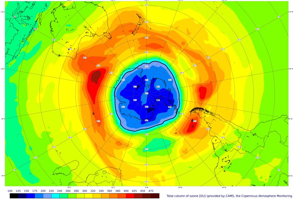 Ozonhålet i data