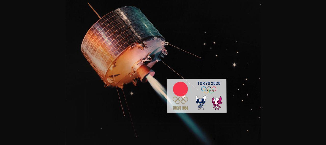 Satelliter i olympiadens tjänst