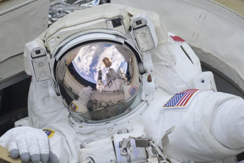 Nya kameror installerade på rymdstationen
