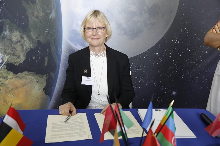 Rymdstyrelsen undertecknar deklaration för internationell klimatövervakning