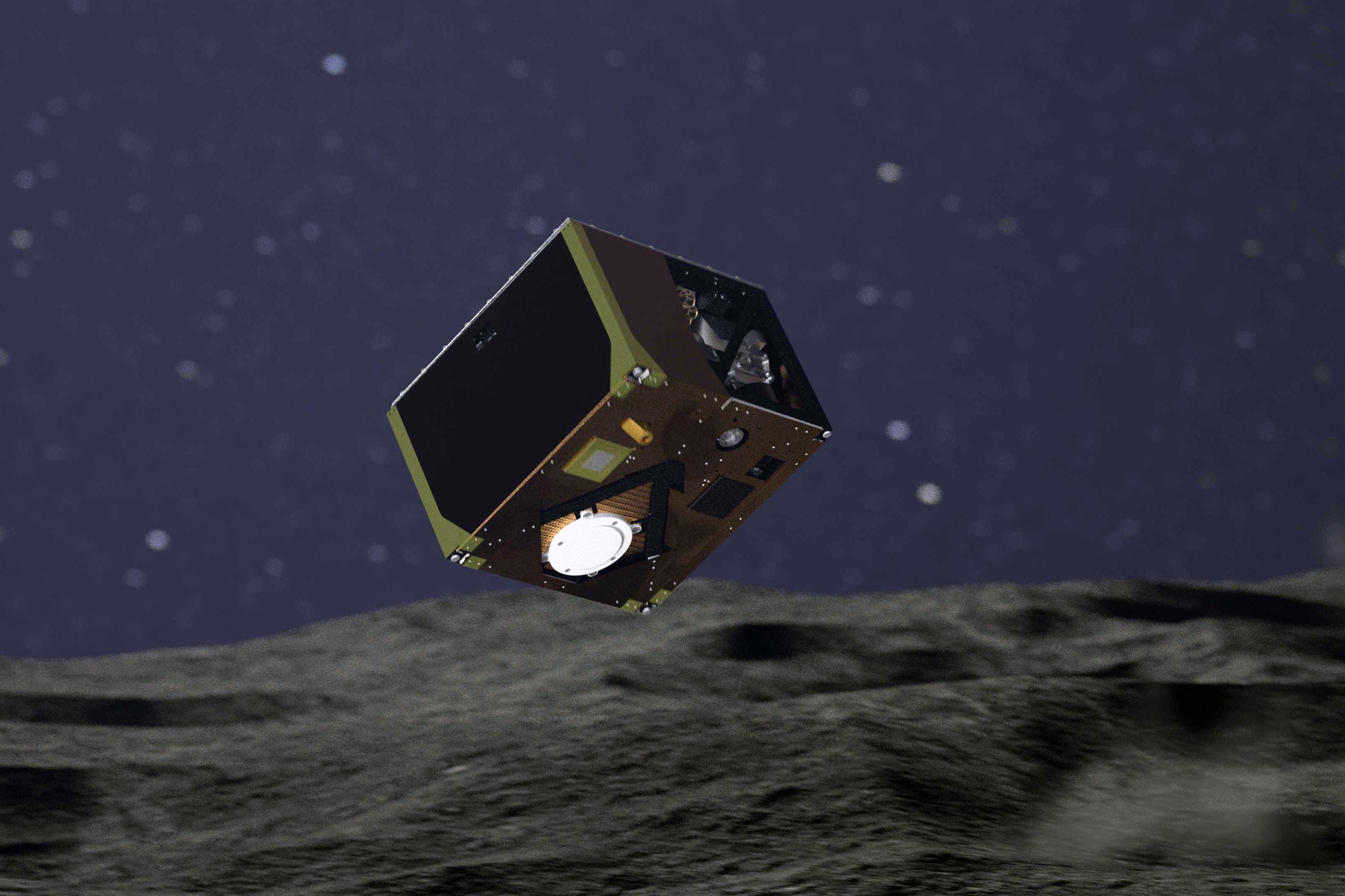 Mascot har landat på asteroiden Ryugu