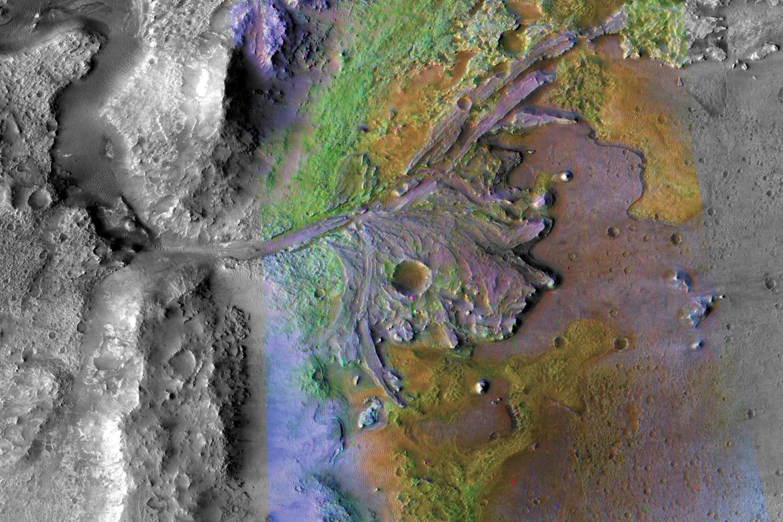 Marsrobotens landningsplats