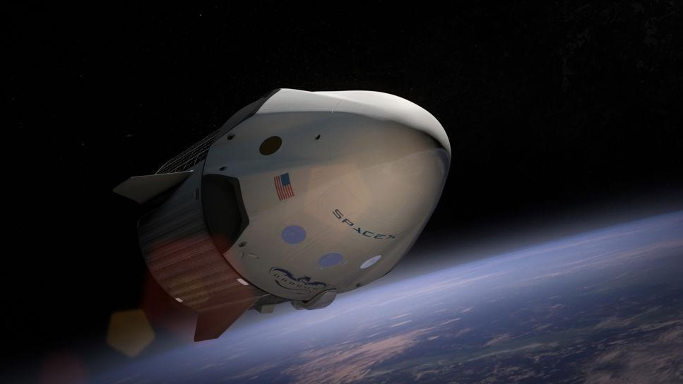 SpaceX vill skicka turister runt månen 2018