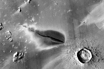 Krater på Mars