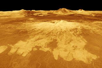 Aktiva vulkaner på Venus
