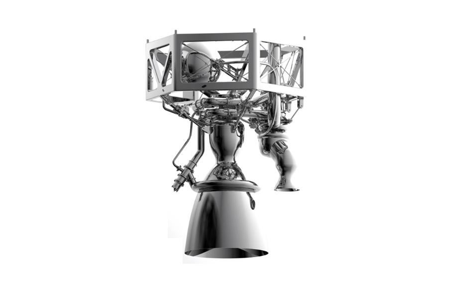 Raketdelar 3D-printas i Trollhättan