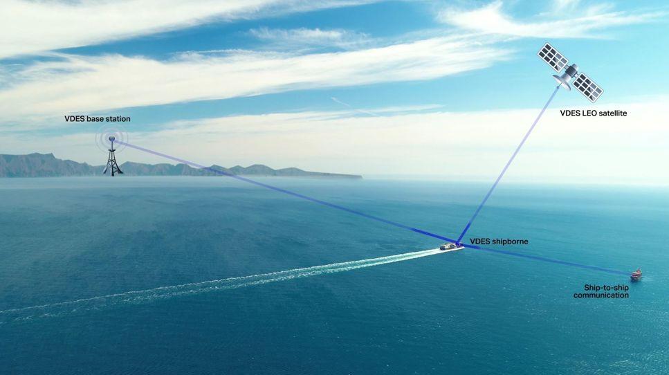 Svenskutvecklad satellit ska hjälpa fartyg att navigera