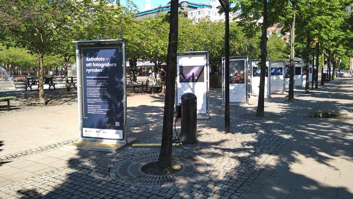 Utställningen i Kungsträdgården