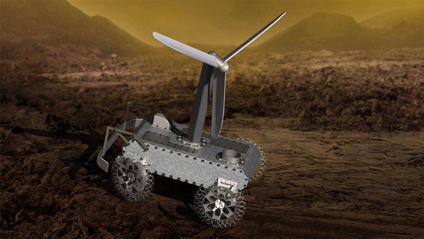 Hjälp Nasa att designa Venus-rovern