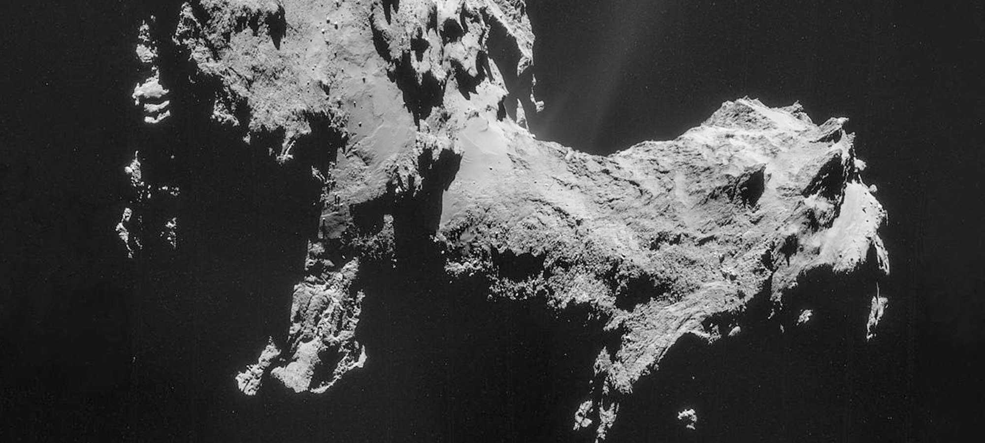 Hur gör man en komet egentligen?