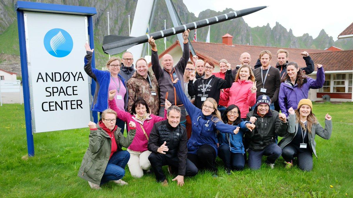 Nordisk sommarläger för lärare på Andøya