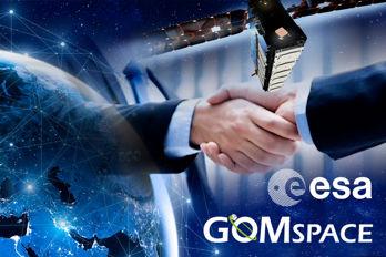 GomSpace Sweden och Esa utvecklar elektriska framdrivningssystem för små rymdfarkoster