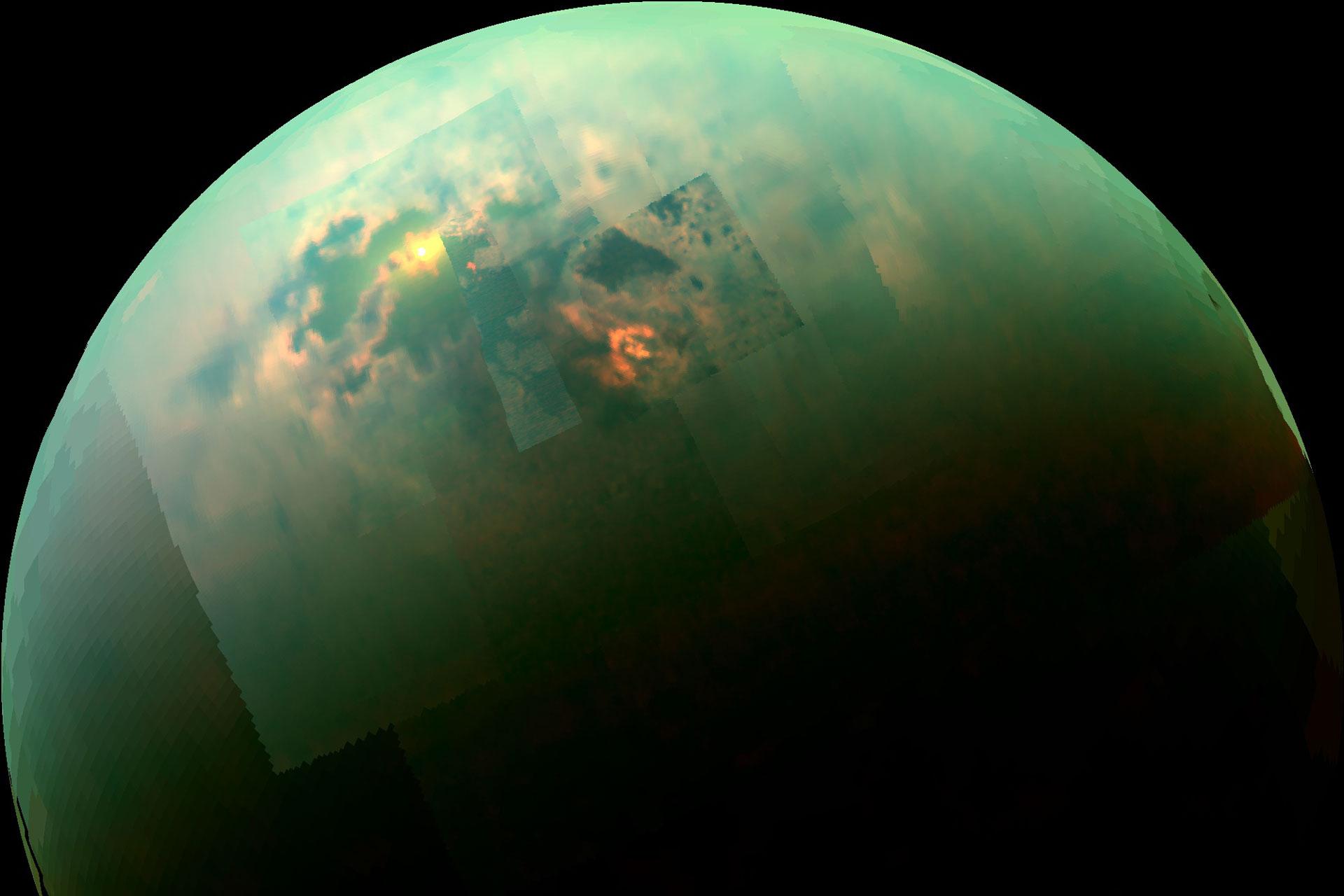 Cassini avslöjar spännande data om Titans sjöar