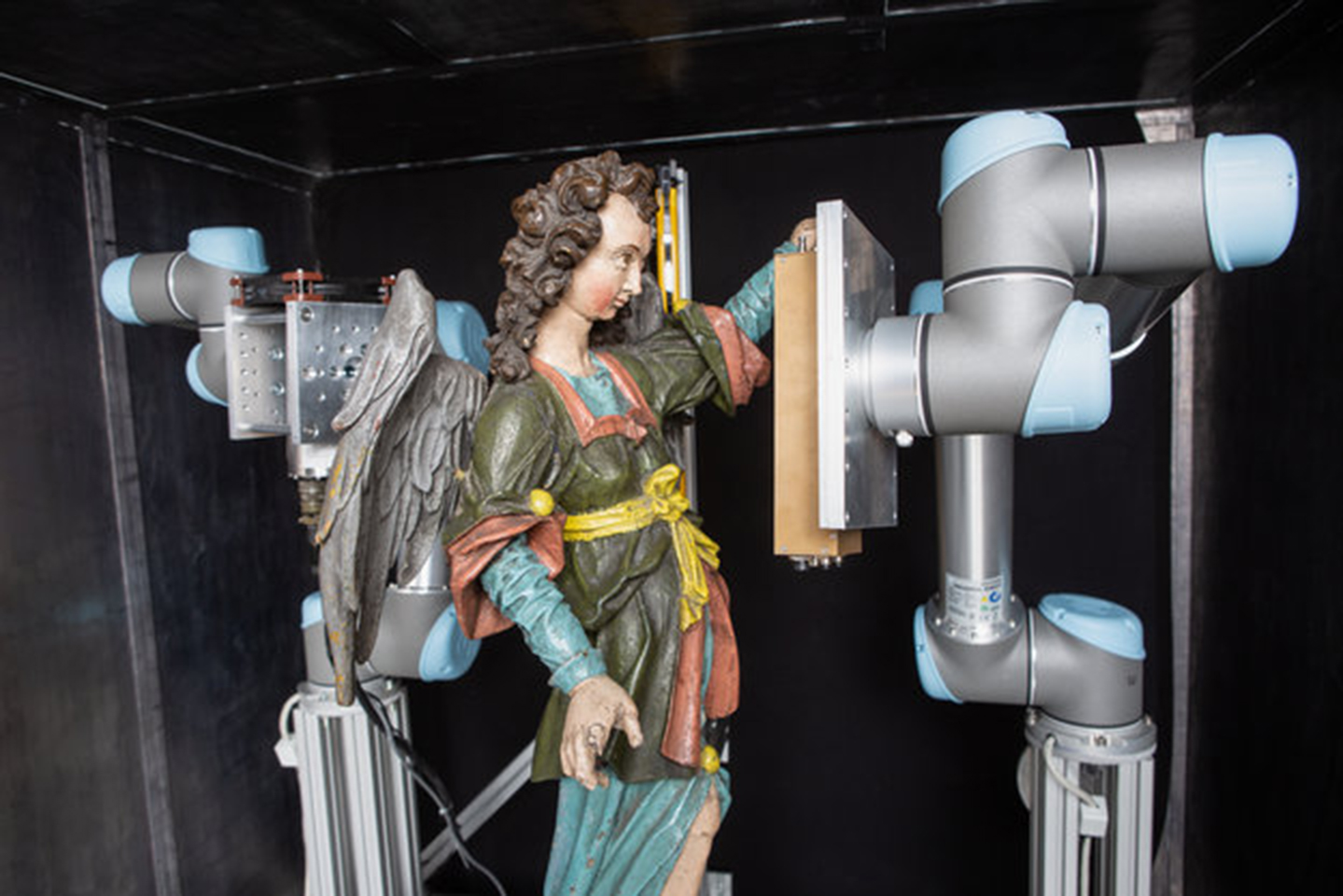 Rymdstrålningsdetektorn avslöjar förfalskade konstverk