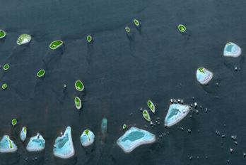 IceSat-2 mäter korallrev i grunda vatten