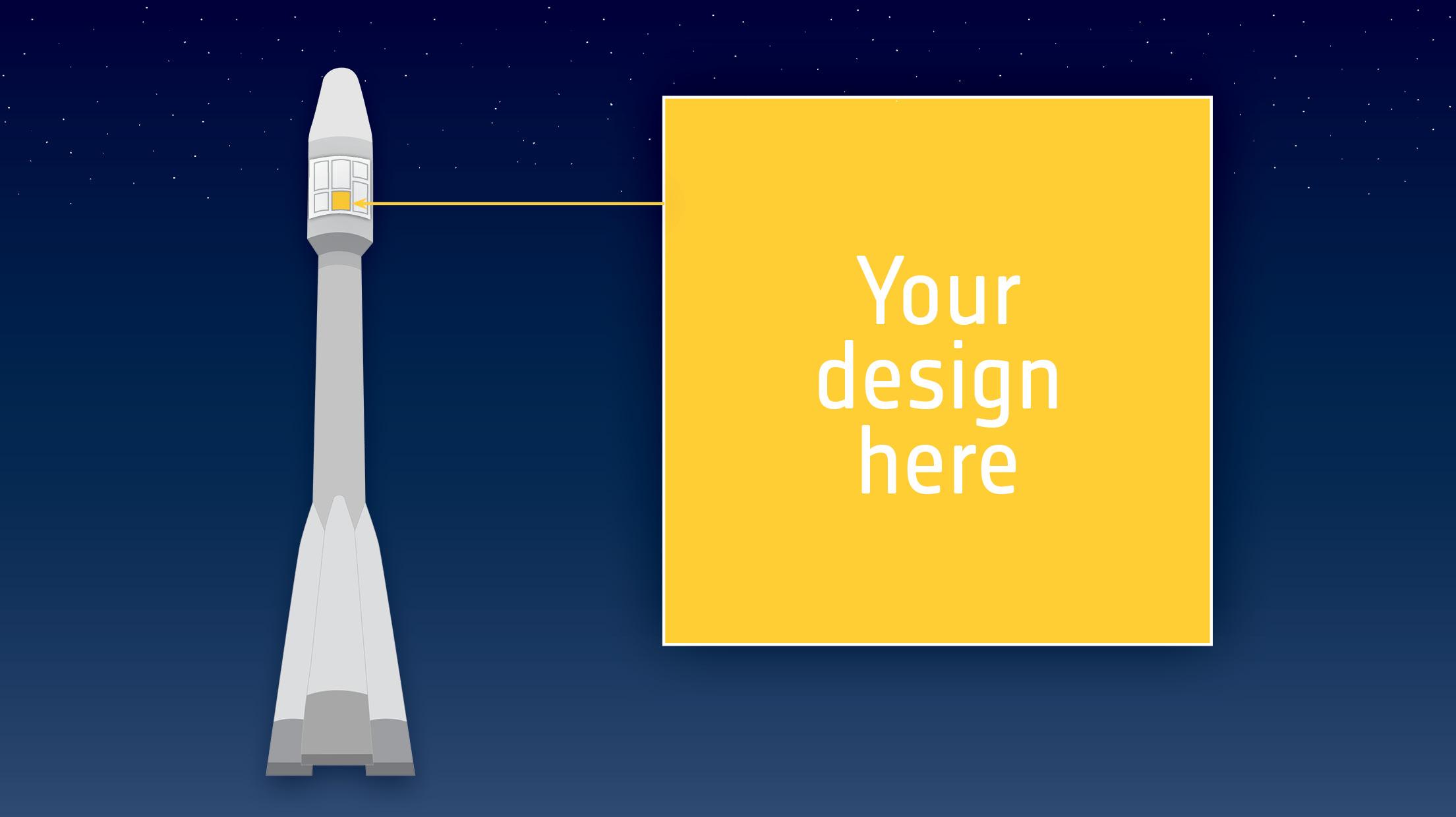 Vill du skicka upp din design i rymden?