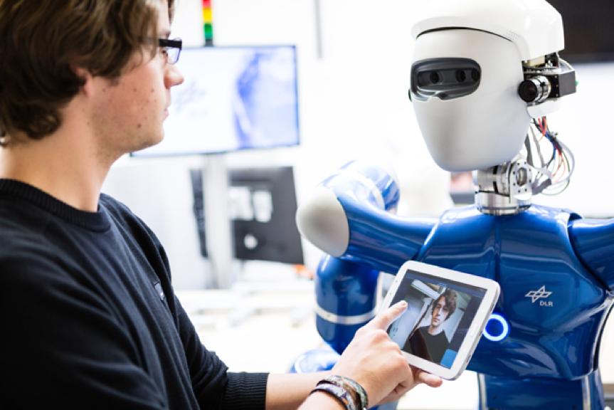 Robot med artificiell intelligens testas inför Mars-uppdrag
