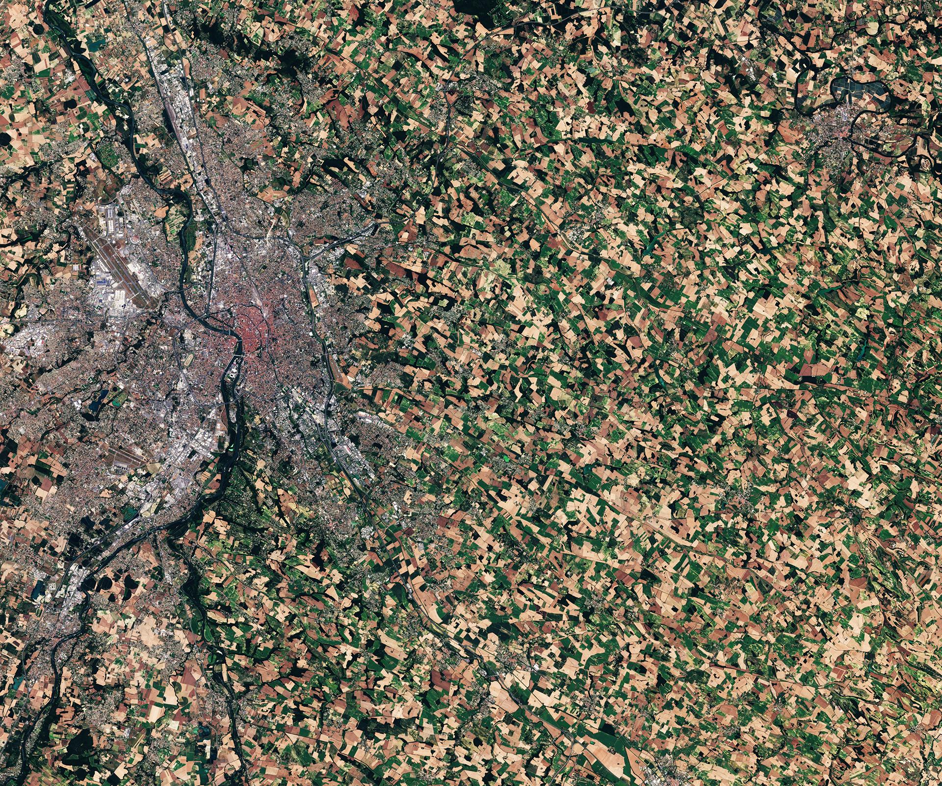 Satellitdata från Plejaderna