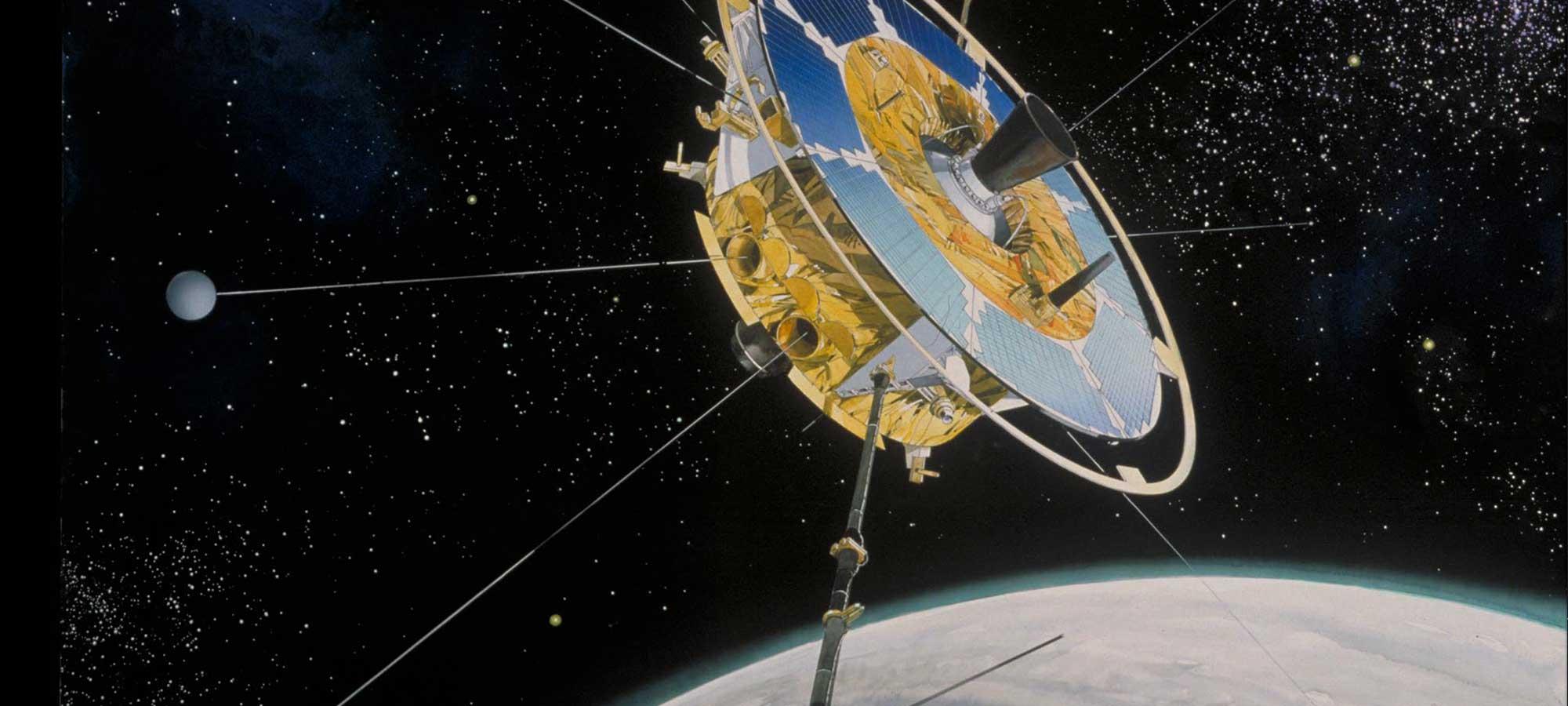 Satelliten Freja