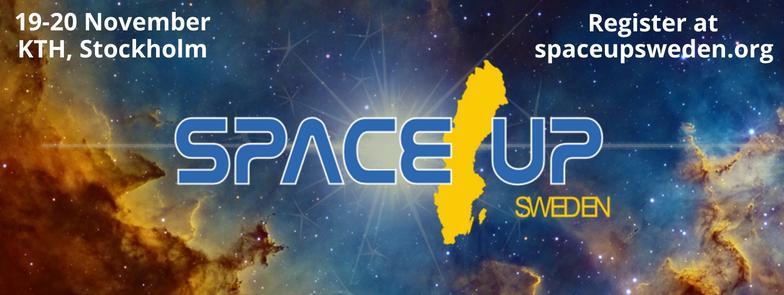 Missa inte SpaceUp Sweden!