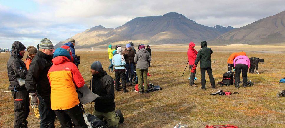 Nordic Esero: Klimatforskning i Arktis - Svalbard