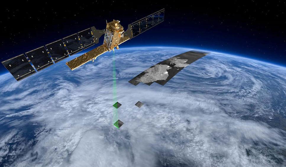 Satelliten Sentinel-1