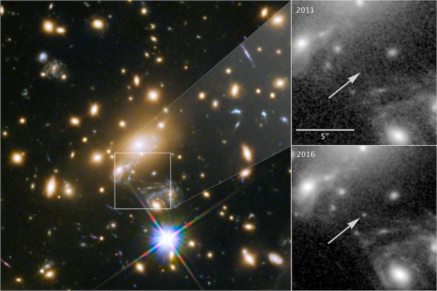 Universums mest avlägsna stjärna upptäckt
