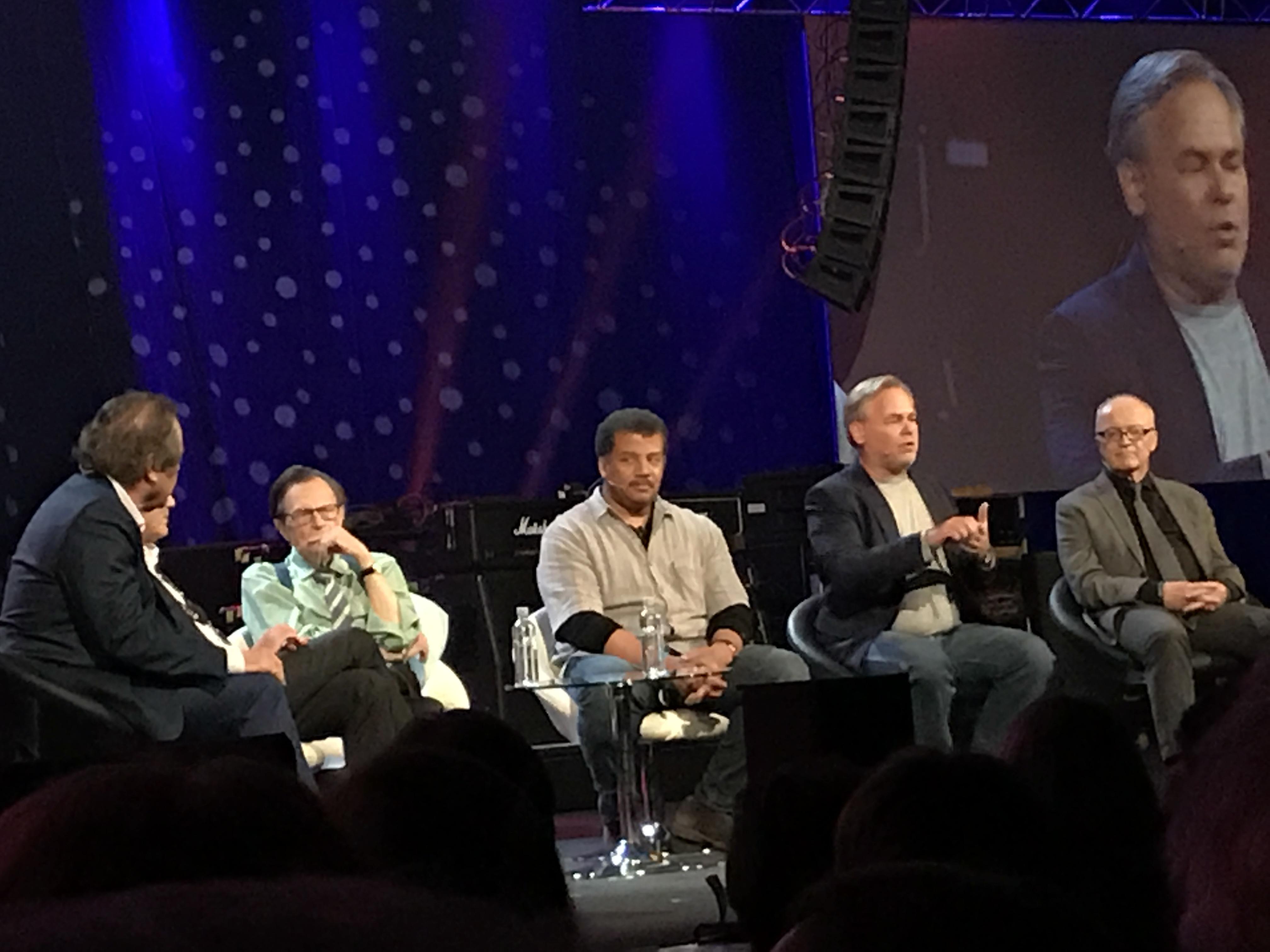 Starmus, dag 4: Larry King leder spännande rymdsamtal