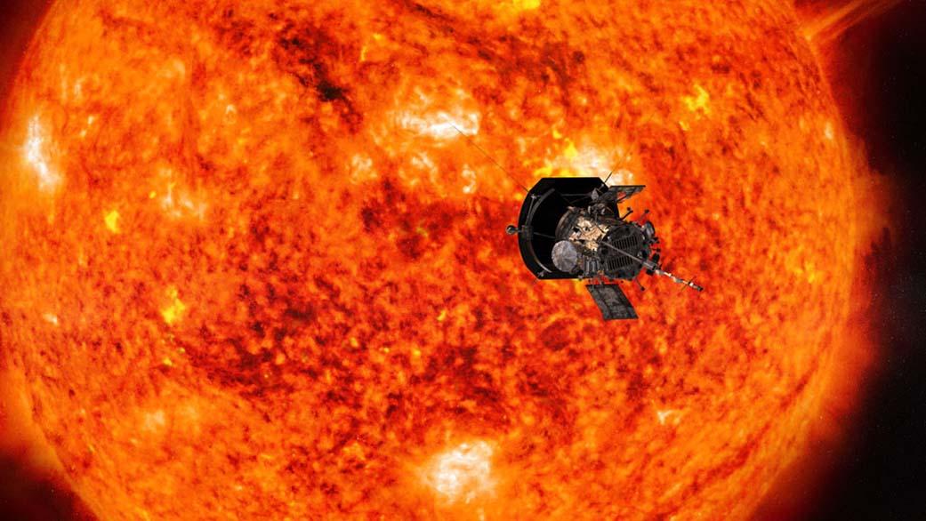 Rekord av Parker Solar – närmaste solen än någonsin