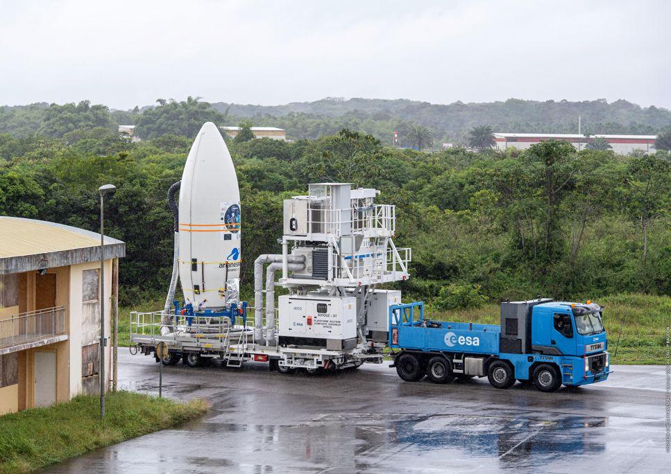 Kourou skickar första raketen sedan coronapandemins utbrott