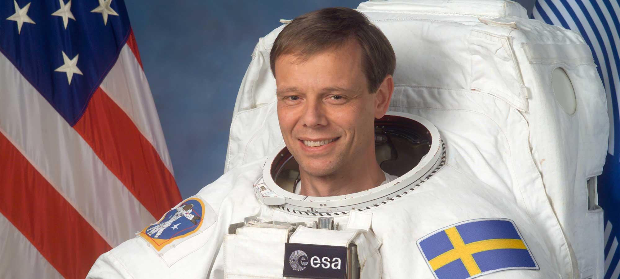 Astronauten svarar