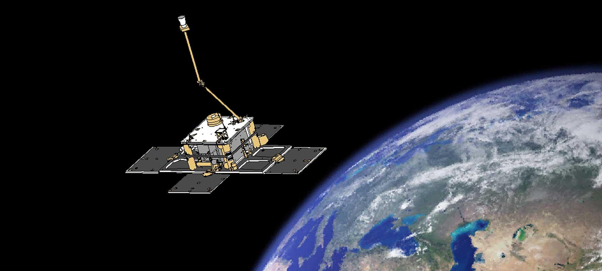 Satelliten Astrid 2