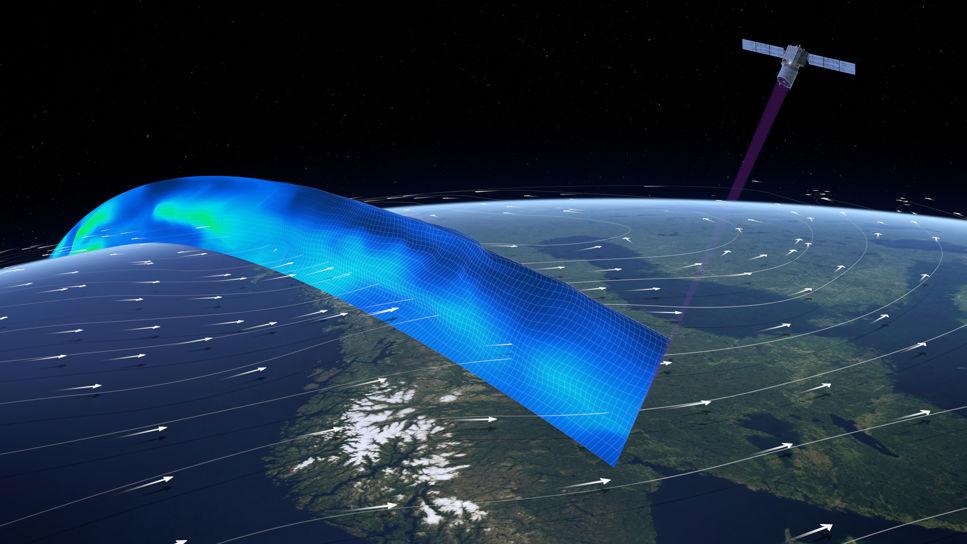 Satelliten Aeolus fungerar - ger oss bättre väderprognoser