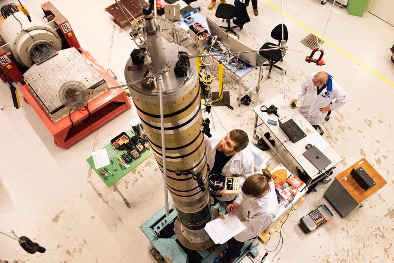 Svenska raketen Spider-2 förbereds för uppsändning