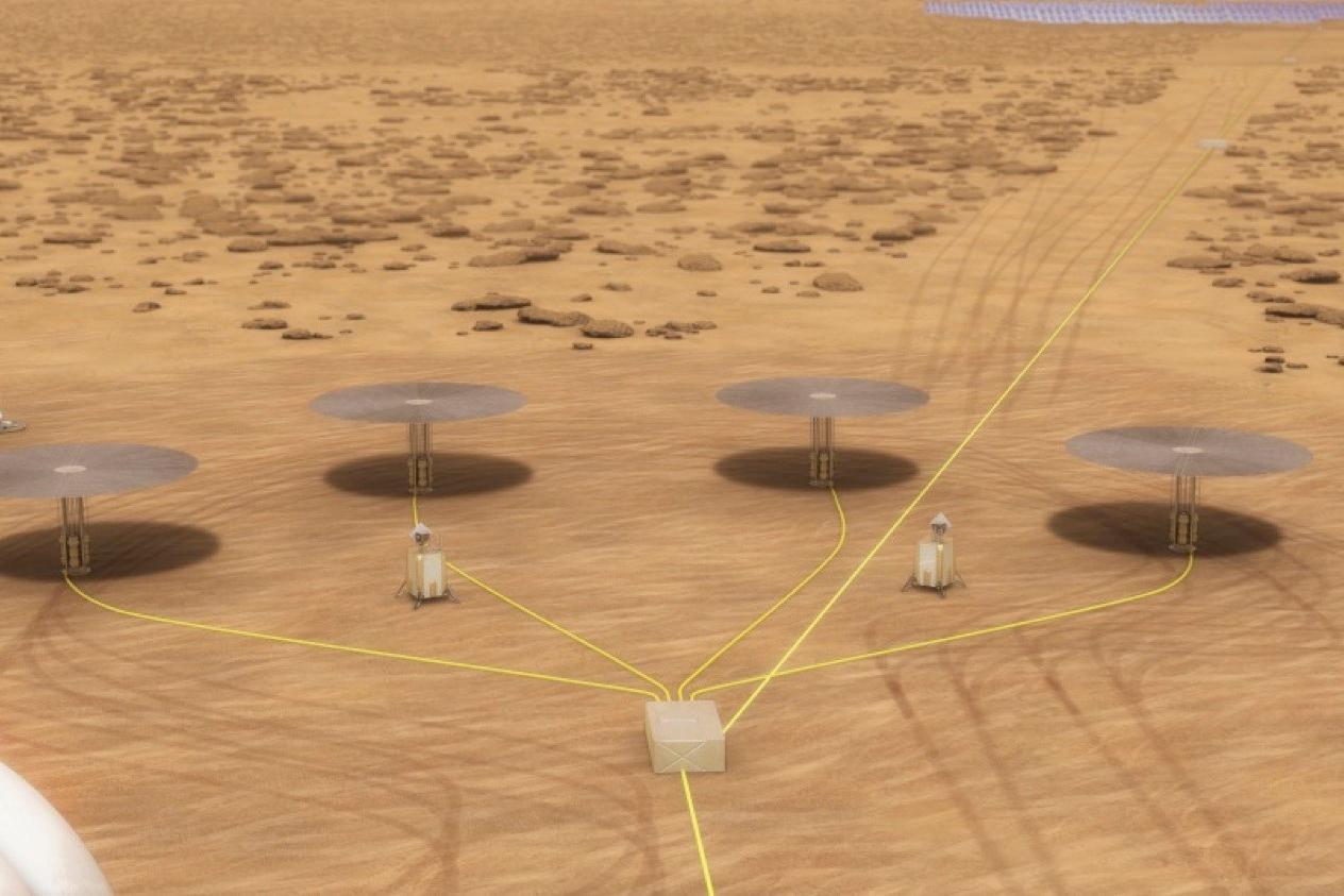 Små kärnreaktorer möjliggör bosättning på Mars