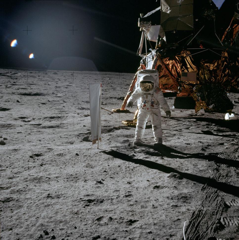Buzz Aldrin på månen