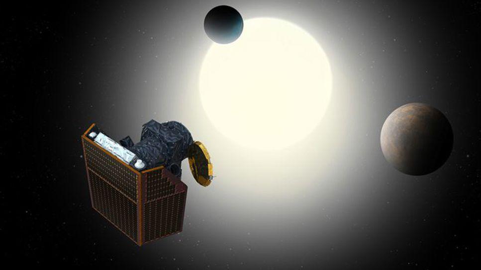 Cheops observerar sin första exoplanet