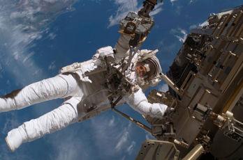 Vår svenska astronaut Christer Fuglesang – ett av de rätta svaren i vår tävling.