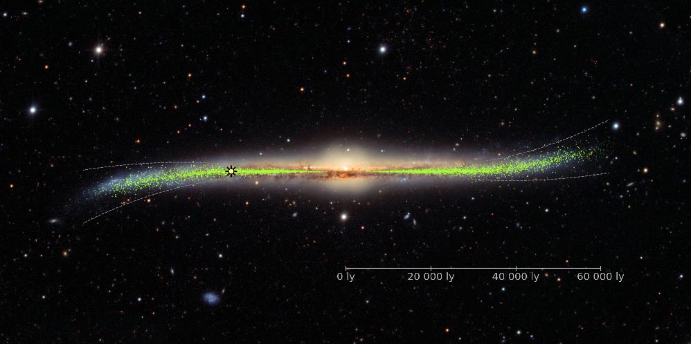 Vår svängiga galax