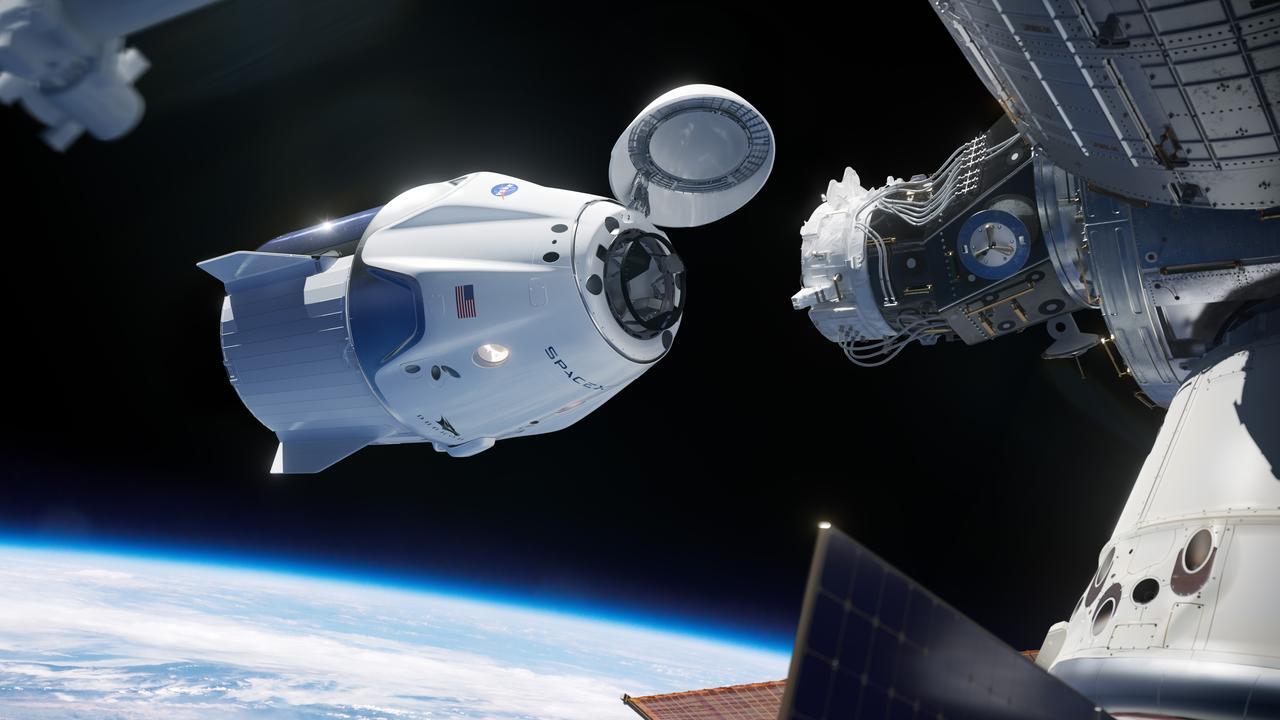 SpaceX skickar sina första astronauter till rymden