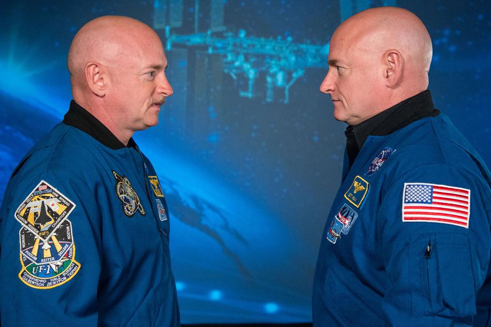 Tvillingstudie ger kunskap om hur kroppen påverkas i rymden
